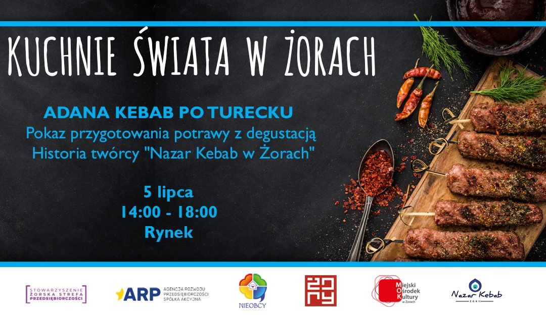 """""""Nazar Kebab Żory"""" poczęstuje publiczność tradycyjnymi tureckimi potrawami"""